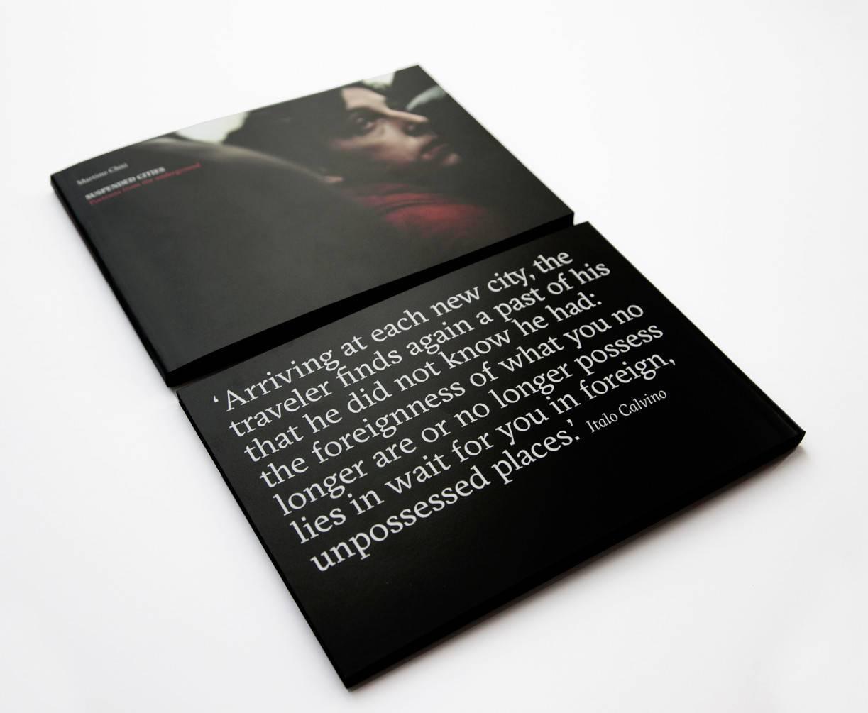 Suspended Cities Martino Chiti - Copertina e retro copertina