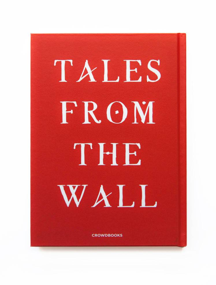 Tales From The Wall - ZED1 - Retro copertina