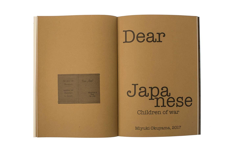 Dear Japanese: Children of War
