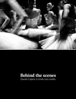 Behind the scenes - Quando il sipario si chiude, tutto cambia — LURIC — CROWDBOOKS